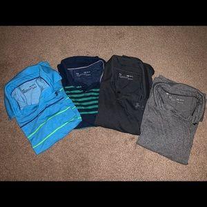 Under Armor golf shirts lot...size M boy